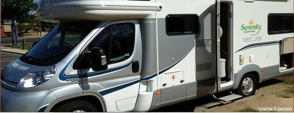 Serenity Motorhomes Motorhome Rental Rates Campervan